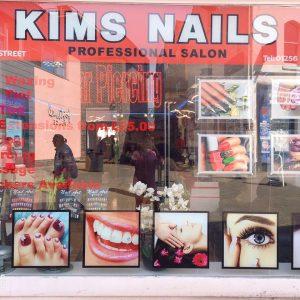 kims nails shop front 3