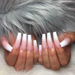 long ombre nails