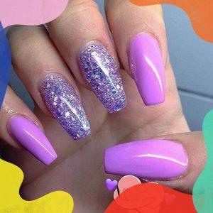 multi colour nail design 170506