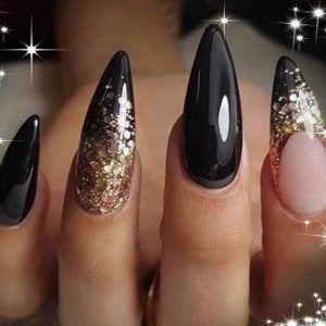 multiple design nail 1705