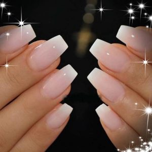 spare ombre nail